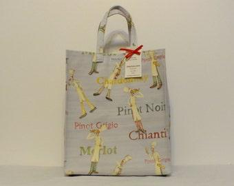 Limited Edition Market Line Bag in print Wine Server