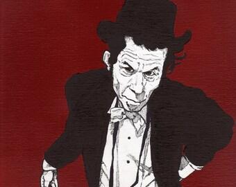 Tom Waits - Original Artwork
