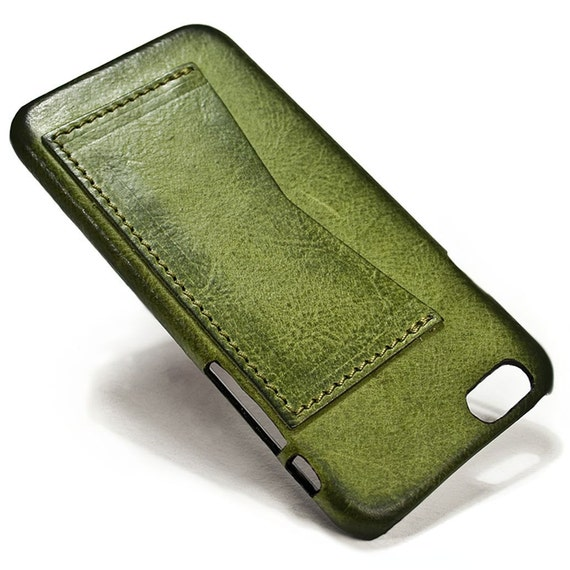 """iPhone 6 Leather Case Washed Leather with credit card holder for 4.7"""" & PLUS 5.5"""" colour to CHOOSE"""