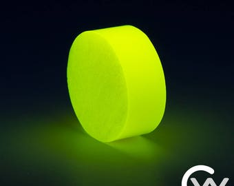 Yellow TurboGlow Ring Blank with High Quality Long Lasting Glow