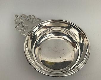 Vintage Oneida Silver Plated Porringer