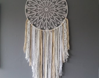 Dream catcher is handmade