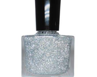 HAMMEERHEAD- Silver Glitter Nail Polish