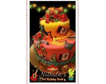 Snapchat Filter Fiesta, Birthday Snap Chat Filter, Birthday Geofilter, Snapchat Geofilter Fiesta Party Snapchat, Fiesta Babyshower Snapchat