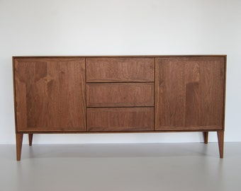 Hand Built Minimalist Buffet / Credenza/Media Console