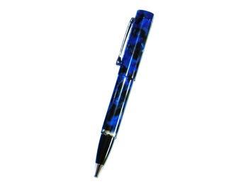 Taskovski Adria Blue Black Fleck Ballpoint/Rollerball/Gel Pen