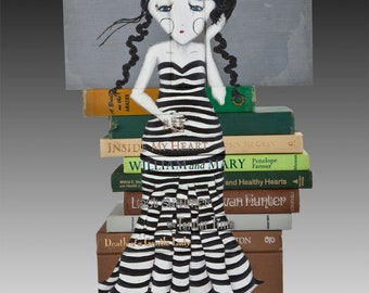 Billy & Mary Sitting In A Tree | Book Art
