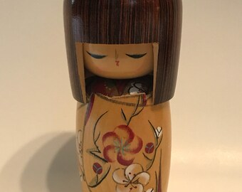 "Vintage Kokeshi Doll 6""// Japanese Wood Doll// Japanese Toys"