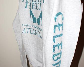 Atlanta Heels Hoodie -ash gray