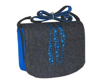 Felt Laptop bag 15 inch with pocket, satchel, Macbook Pro 15 in, Custom size Laptop bag, sleeve, case,belt shoulder