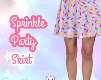 Sprinkle Party Skirt