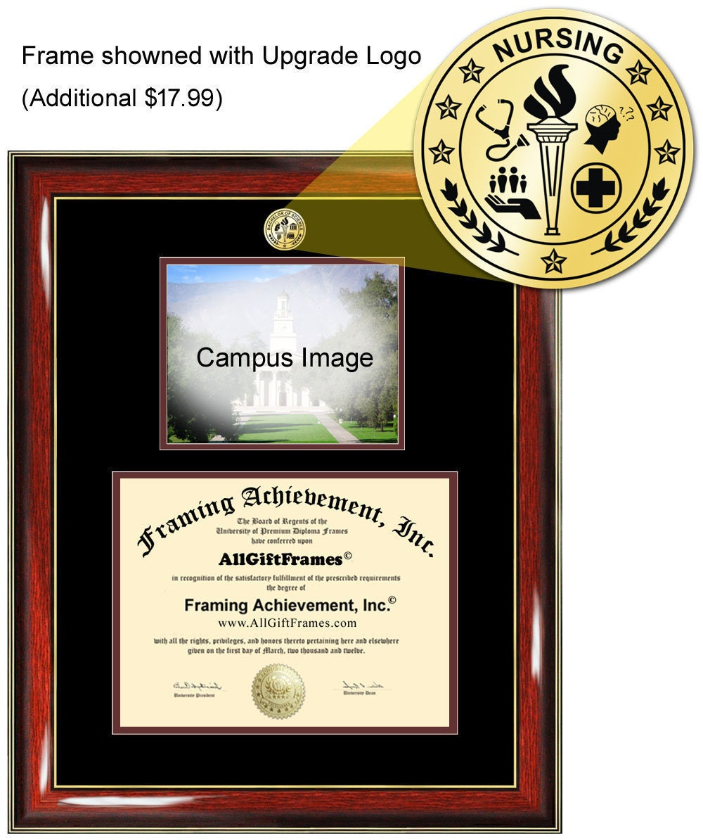 Southern Illinois University SIU diploma frame campus degree ...