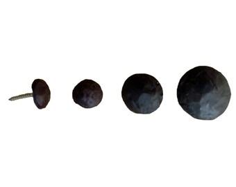 """100 rond Clavos, vis décorative ronde disponible comme vis, la colle sur ou magnétiques divers tailles 7/8""""- 1 1/2"""""""