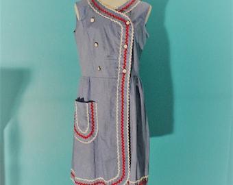 Ric Rac Chambray Dress