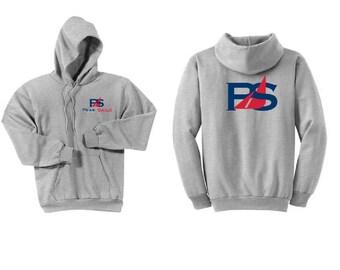 Peak Sails Ash Grey Hoodie Sweatshirt