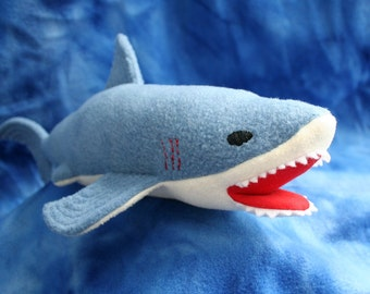 Shark Softie - PDF Sewing Pattern - Make a Soft Toy for your Shark Lover