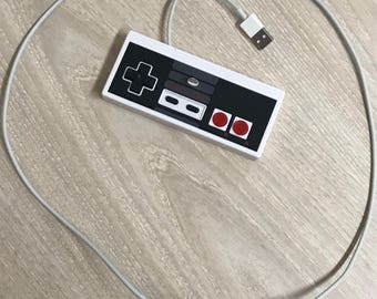 Nintendo controller turned Iphone charger