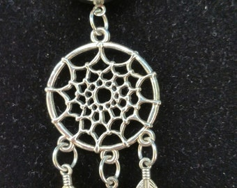 Dream Catcher Pendant with 20 MM Snap Button- Beautiful