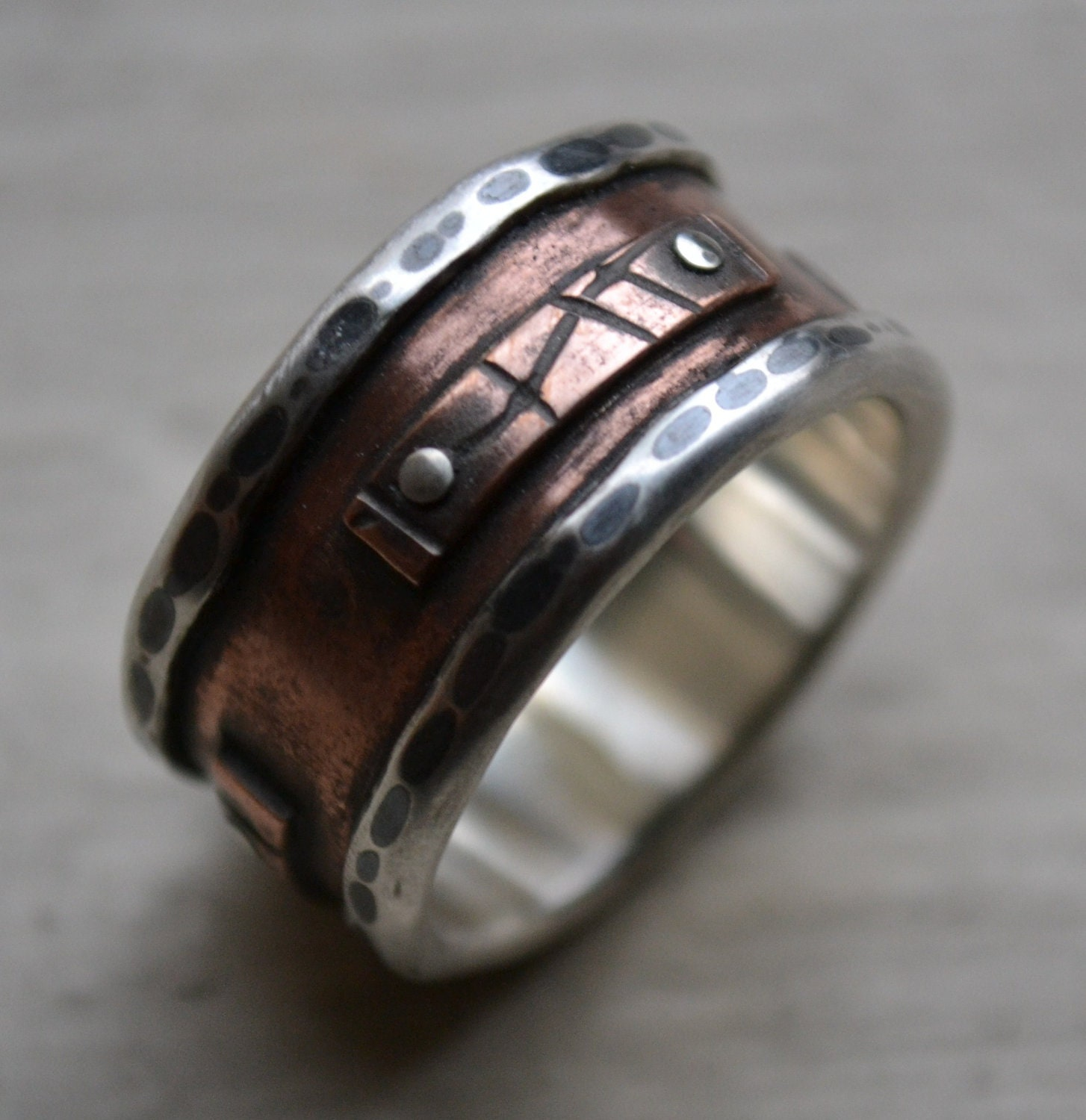 creative and wedding for black image pin unusual result banded rings most ring