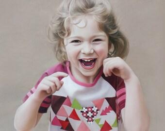 Custom Family Portrait - CUSTOM PAINTING - Oil Painted Portrait -  Custom Gift