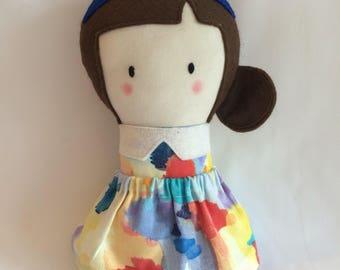 Little Girl Doll * Cloth Doll * Rag Doll * Fabric Doll * Handmade Doll * Cute Doll * Girls Gift * Baby Gift