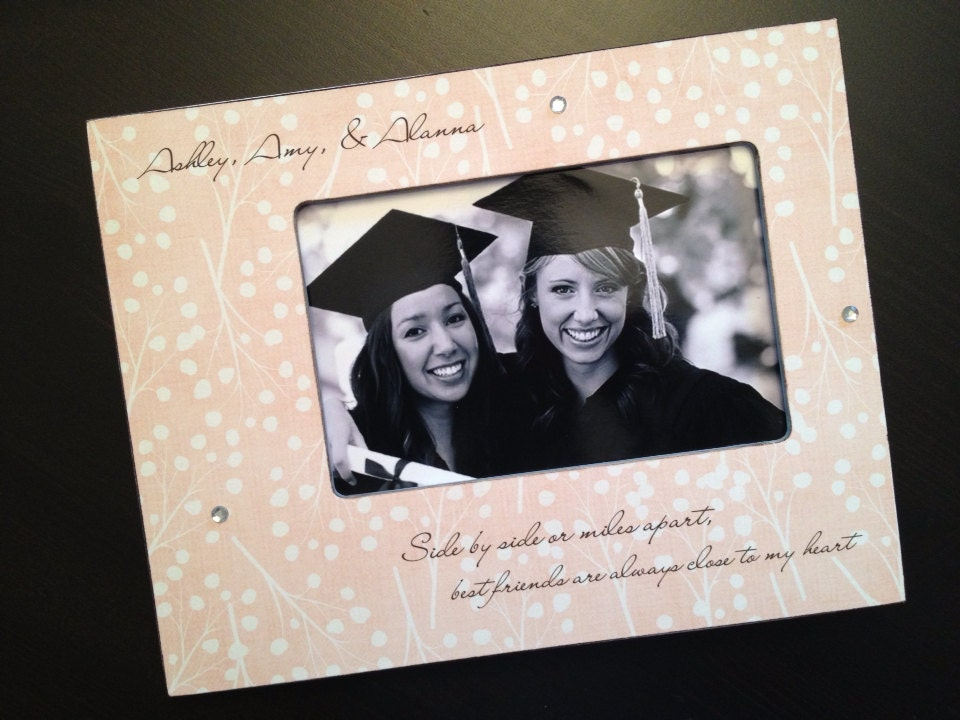 Personalized Best Friend Gift BFF Gift BFF Picture Frame