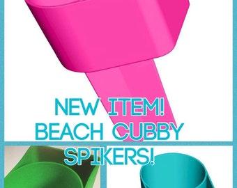 Beach Spiker with Phone Cubby