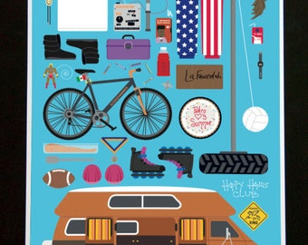 Napoleon Dynamite • Movie Parts Poster