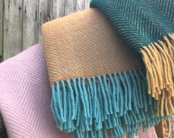 Pure New Wool Throw