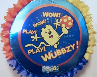 Wow Wow Wubbzy Pull String or Hit Pinata