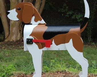 Beagle Dog Lover Mailbox