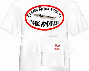 Custom Kayak t-shirts