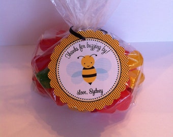 Bumble Bee Party Favor Bags ( Set of 12 ) / Bee Birthday Favors / Bee Party Favors / Bee Birthday Party Favors / Bumble Bee Birthday