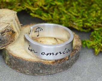 In Omnia Paratus Ring