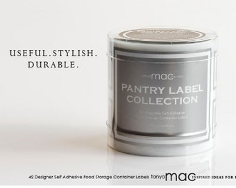 SALE - The Stainless Pantry Label Collection