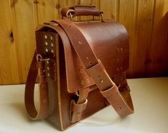 SALE Messenger bag, Leather bag-tablet, handmade bag, leather bag,leather briefcase