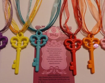 "On Sale!! Necklace ""Key"" (several colors)"
