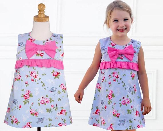 Girls Dress Patterns, Dress Sewing Pattern, PDF Sewing Pattern ...