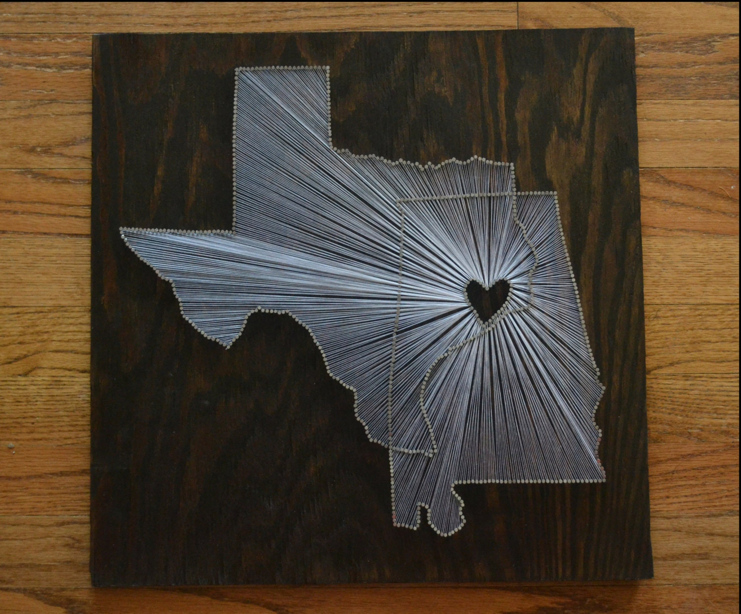 State nail and string art gallery nail art and nail design ideas the original two state string art 18x18 two state one zoom prinsesfo gallery prinsesfo Images
