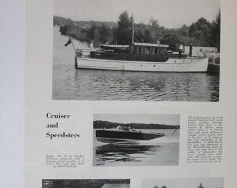 108 Motor Yachts  - 1930