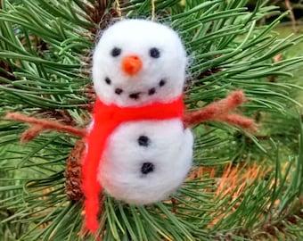 Snowman tree decoration