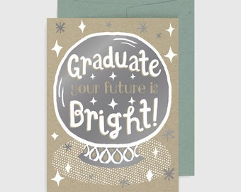 Congratulations Card - Graduation - Crystal Ball
