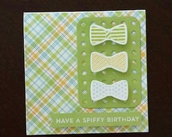 Spiffy Birthday Card