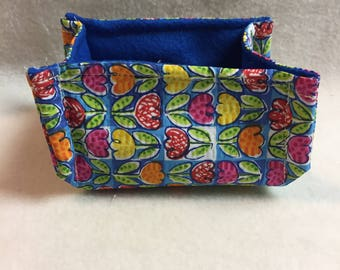Fabric Basket - Tulips (#029)