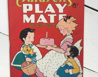 June 1946 Childrens Play Mate magazine