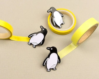 Penguin Pin / Cute Pin / Penguin Gift / Animal Enamel Pin / Penguin Lapel Pin / Animal Pin / Polar Animals / Cute Penguin Pin / Kawaii Pin