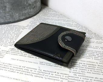 Vegan Brieftasche Geldbörse Geldbeutel Individueller Monogramm