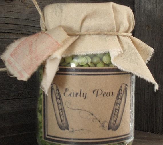 Pantry Jar       Peas
