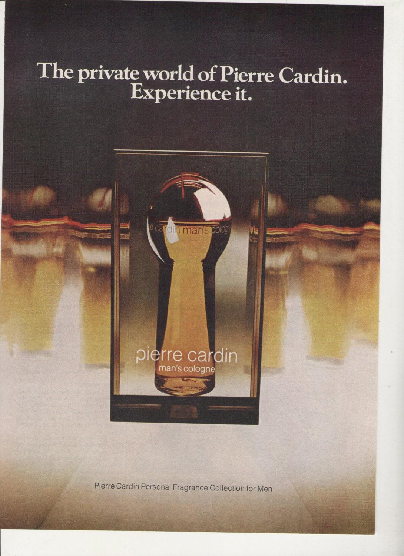 1975 advertisement pierre cardin mans cologne 70s mens zoom biocorpaavc Choice Image