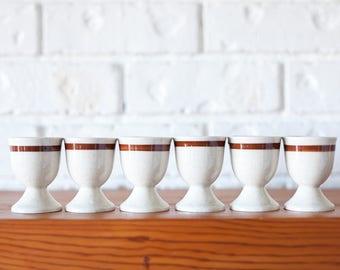 Vintage Ceramic Egg Cups Made In Japan